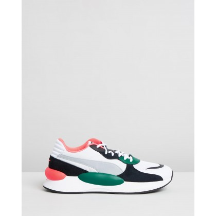 RS 9.8 Space Puma White & Teal Green by Puma