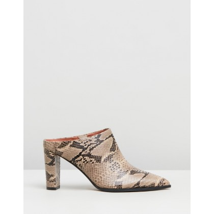 Rue Beige Snake Leather by Alias Mae