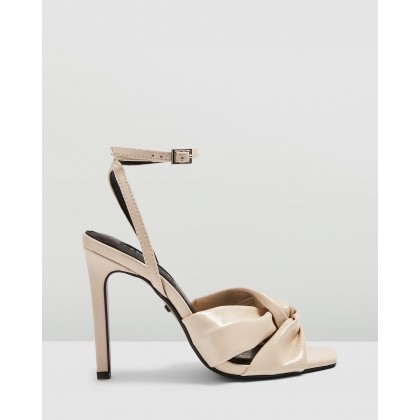 Rumba Patent Sandals Ivory by Topshop