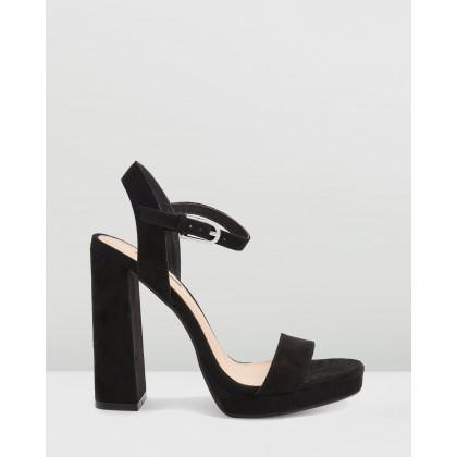 Sabine Platform Heels Black by Topshop