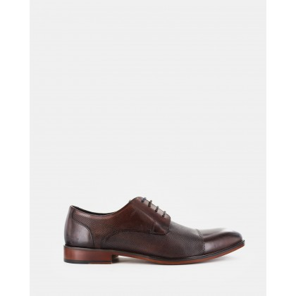 Sachs Dress Shoes Dark Brown by Wild Rhino