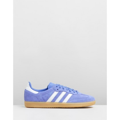 Samba Original - Women's Realil & Cry White by Adidas Originals