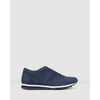 Sampson Sneakers Navy by Aq By Aquila