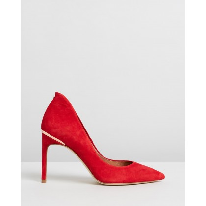 Savio Red Suede by Ted Baker
