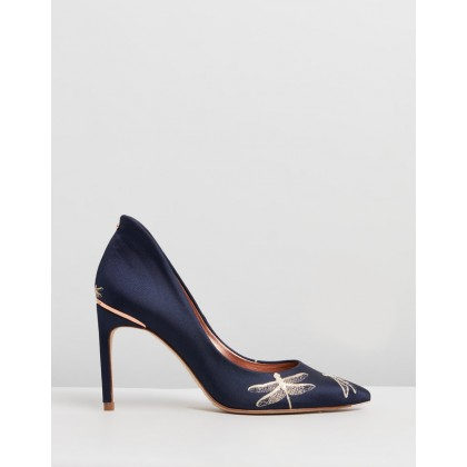 Savioj Navy Sugar Plum Jacquard by Ted Baker