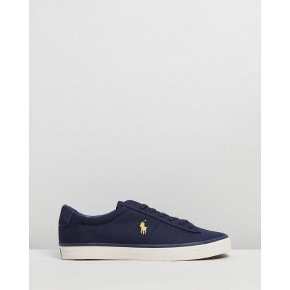 Sayer Sneakers - Men's Navy & Gold by Polo Ralph Lauren