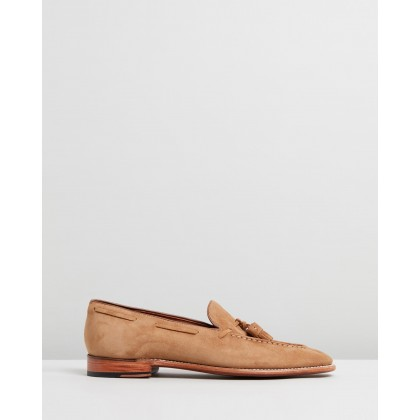 Scottie Honey Suede by Grenson