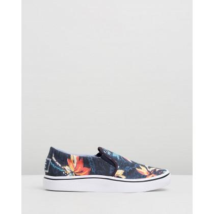 Seasonal Print Slip-On Sneakers Midnight by Tommy Hilfiger