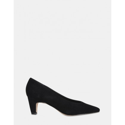 Seduce BLACK SUEDE by Jane Debster