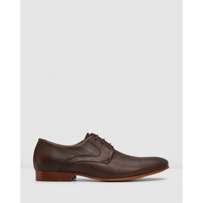 Selfton Lace Ups Brown by Aq By Aquila
