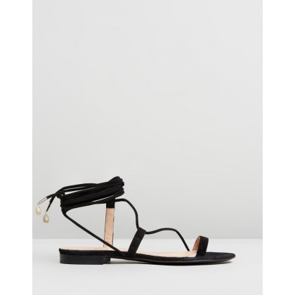 Selma Sandals Black by Brother Vellies