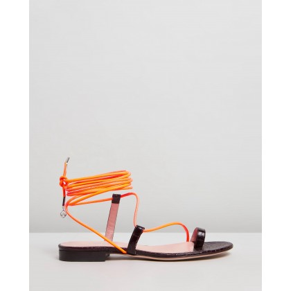 Selma Sandals Espresso by Brother Vellies