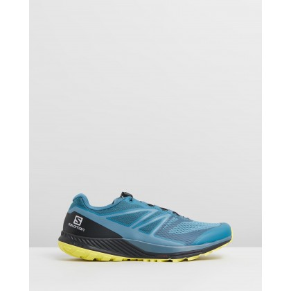 Sense Escape 2 - Mens Mallard Blue, Blue Stone & Sulfur Spring by Salomon