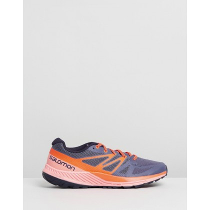 Sense Escape - Women's Blue & Coral by Salomon