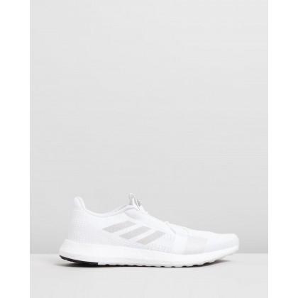 Senseboost Go - Men's Footwear White, Grey One & Core Black by Adidas Performance