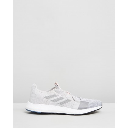 Senseboost Go - Men's Grey One, Grey Three & Tech Ink by Adidas Performance