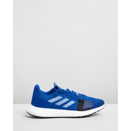 Senseboost Go - Men's Collegiate Royal, Footwear White & Collegiate Navy by Adidas Performance