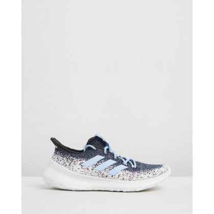 SenseBOUNCE + Street - Women's Tech Ink, Glow Blue & Feather White by Adidas Performance