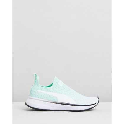 SG Slip-On - Women's Fair Aqua & Puma Black by Puma