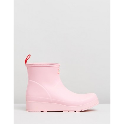 Short Original Play Boots - Women's Candy Floss by Hunter