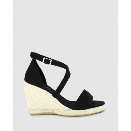 Siera Wedges Black by Marcus B