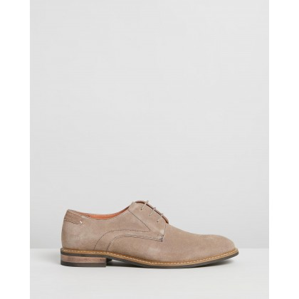 Silva Suede Derby Taupe by Double Oak Mills