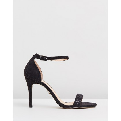 Simple Barely There Heels Black by Lipsy