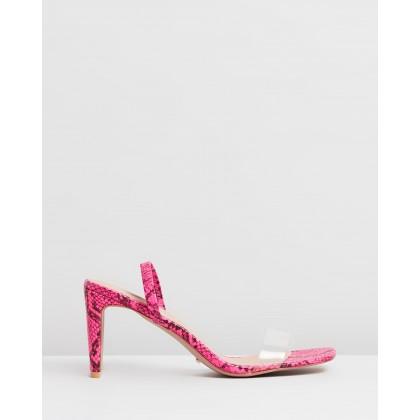 Sirela Neon Pink Snake by Billini