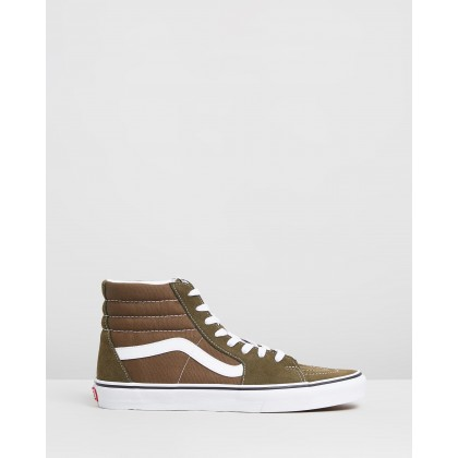 Sk8-Hi - Men's Beech & True White by Vans