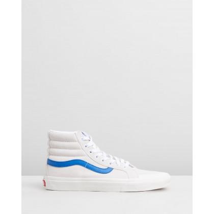 SK8-Hi Reissue 138 - Unisex True White & Lapis Blue by Vans