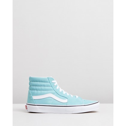 SK8-Hi - Unisex Aqua Haze & True White by Vans