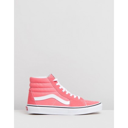 Sk8-Hi - Women's Strawberry Pink & True White by Vans
