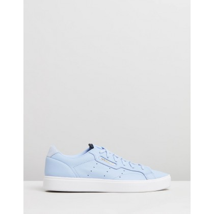 Sleek - Women's Periwinkle & Crystal White by Adidas Originals