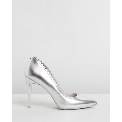 Sloanal Silver Leather by Ted Baker