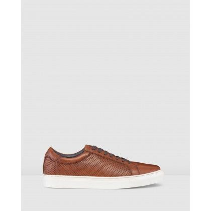Smith Sneakers Tan by Aq By Aquila
