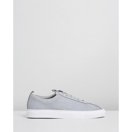 Sneaker 1 Pebble Nubuck by Grenson