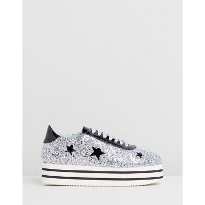 Sneakers Silver by Chiara Ferragni