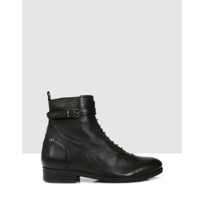 Sofia Ankle Boots BLACK by S By Sempre Di