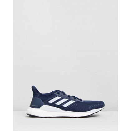 Solar Boost 19 - Men's Collegiate Navy, Blue Tint & Solar Orange by Adidas Performance