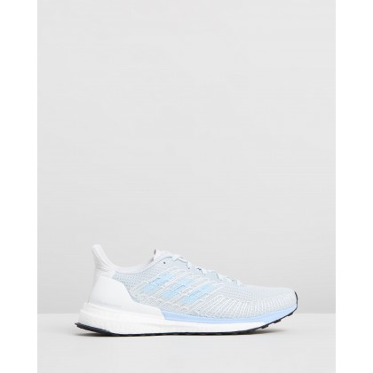 Solar Boost 19 - Women's Blue Tint, Glow Blue & Solar Orange by Adidas Performance