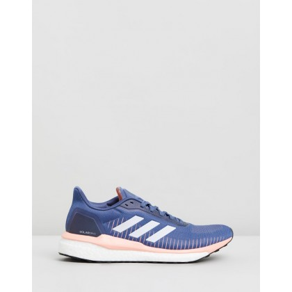 Solar Drive 19 - Women's Tech Ink, Footwear White & Glow Pink by Adidas Performance