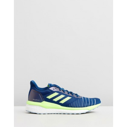 Solar Drive - Women's Legend Marine, Hi-Res Yellow & Ash Grey by Adidas Performance
