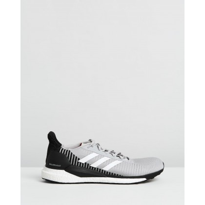 Solar Glide ST 19 - Men's Grey Two, Cloud White & Solar Orange by Adidas Performance