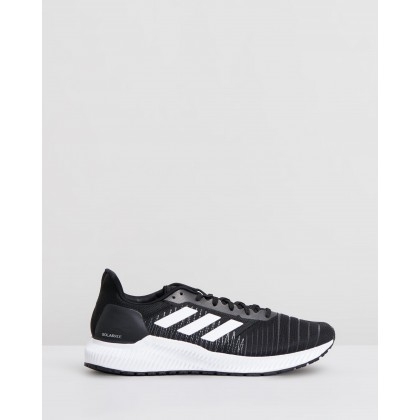Solar Ride - Men's Core Black, Footwear White & Grey by Adidas Performance