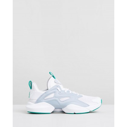 Sole Fury Adapt - Women's White, Cold Grey & Emerald by Reebok