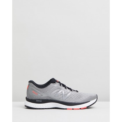 Solvi v2 - Men's Marblehead, Black & Energy Red by New Balance