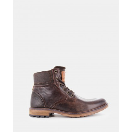 Southport Boots Dark Brown by Wild Rhino