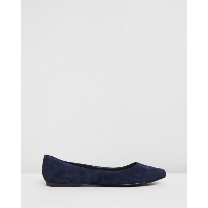 Speak Up Dark Blue Suede by Nine West