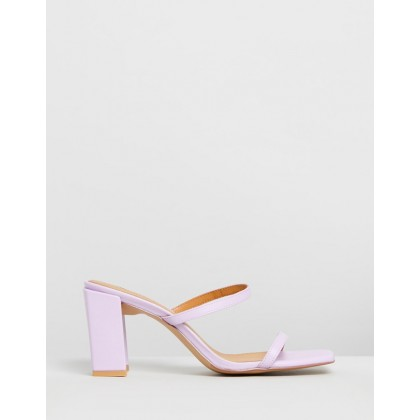 Square Heels Lilac by Jaggar The Label