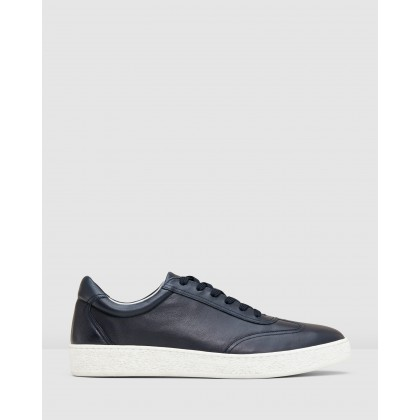 Stanway Sneakers Navy by Aquila